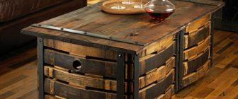 Мебели от бъчви – креативни хрумвания !