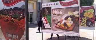 """Седмото издание на """"Дефиле на младото вино"""" 23 – 29 ноември 2015 Пловдив"""