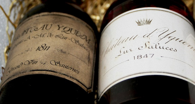 Най-скъпо продаденото бяло вино