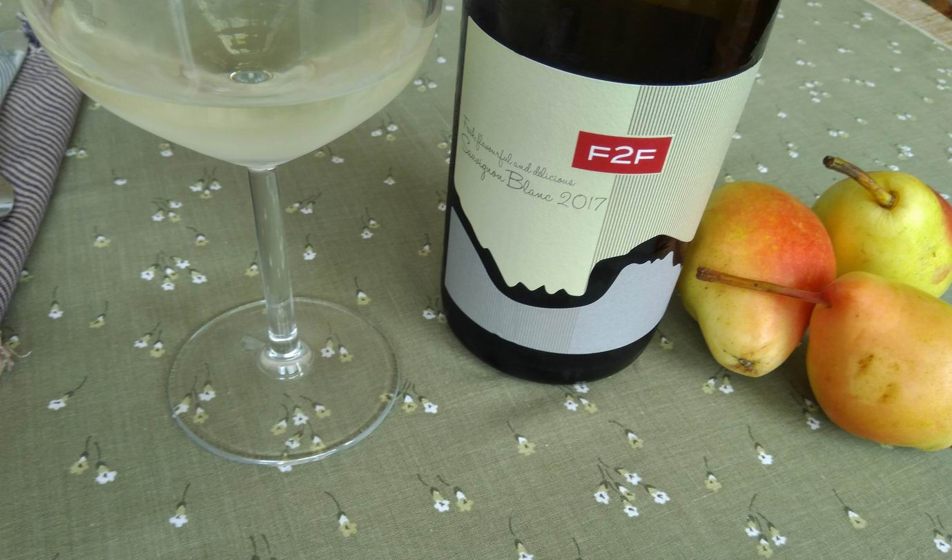 F2F Sauvignon Blanc 2017 – New Bloom Winery