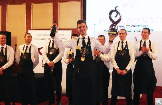 Илиян Петракиев – Сомелиер на 2016 годината