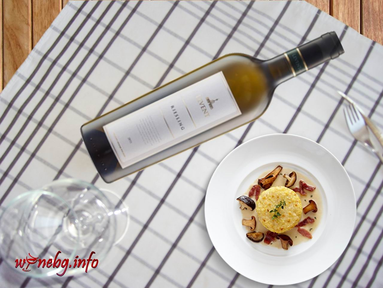 Levent Riesling 2015 – Rousse Winery