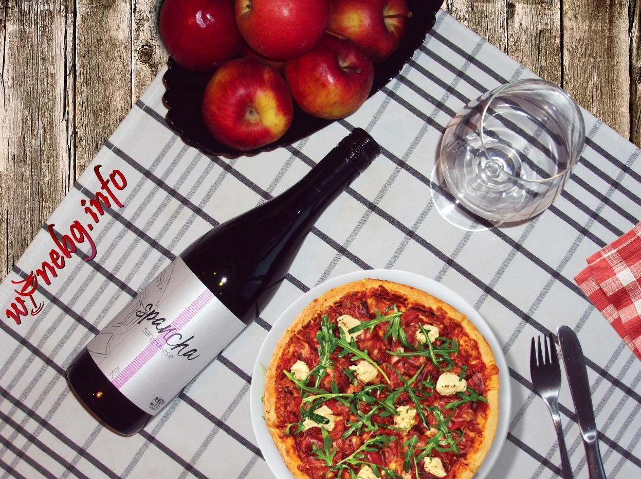 Spancha Sangiovese 2016 – Rupel Winery