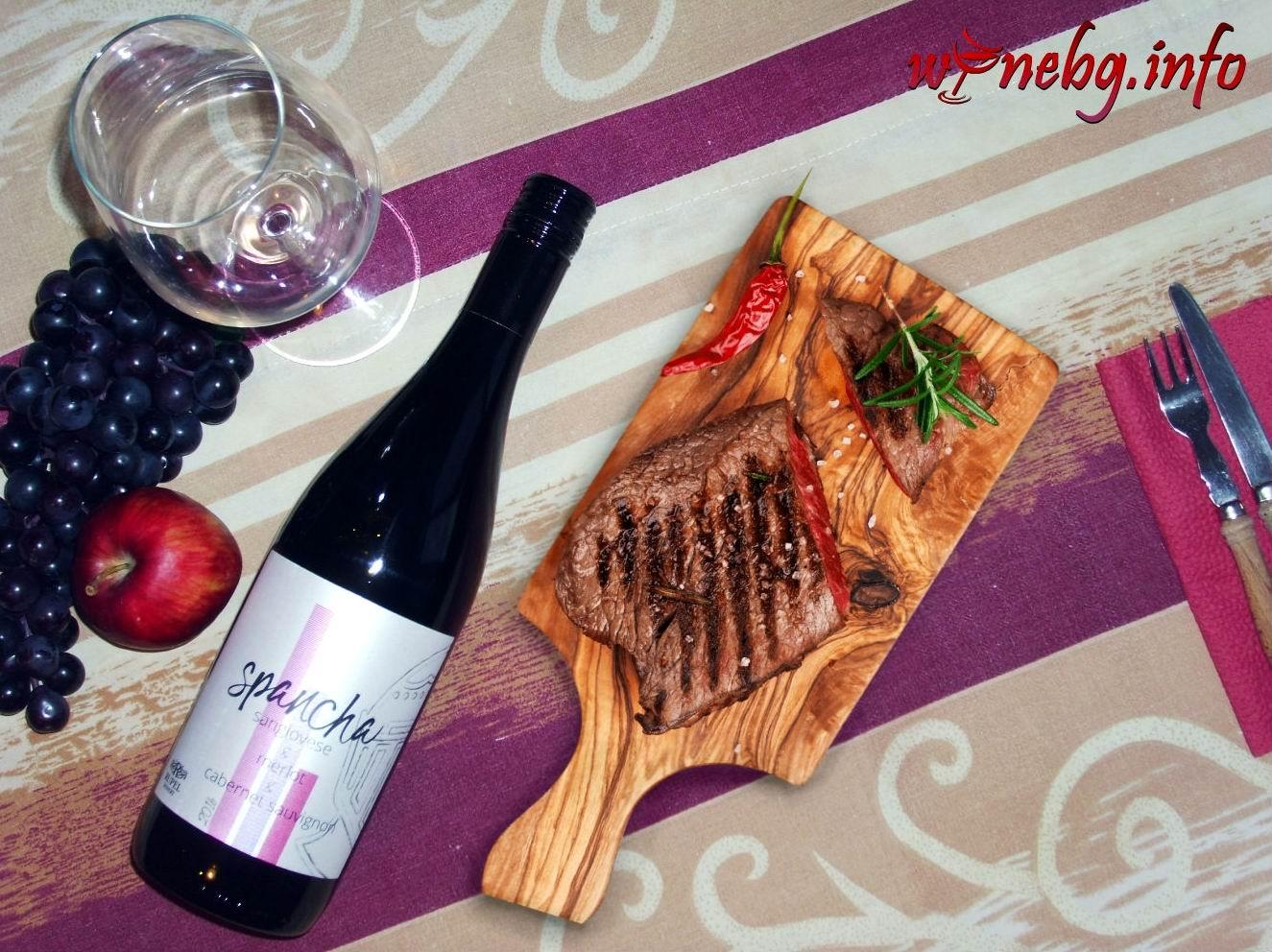 Spancha Sangiovese & Merlot & Cabernet Sauvignion 2016 – Rupel Winery