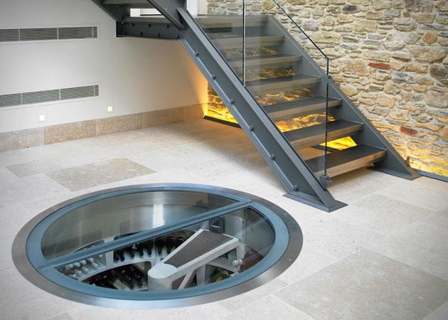 Подземна спираловидна домашна изба