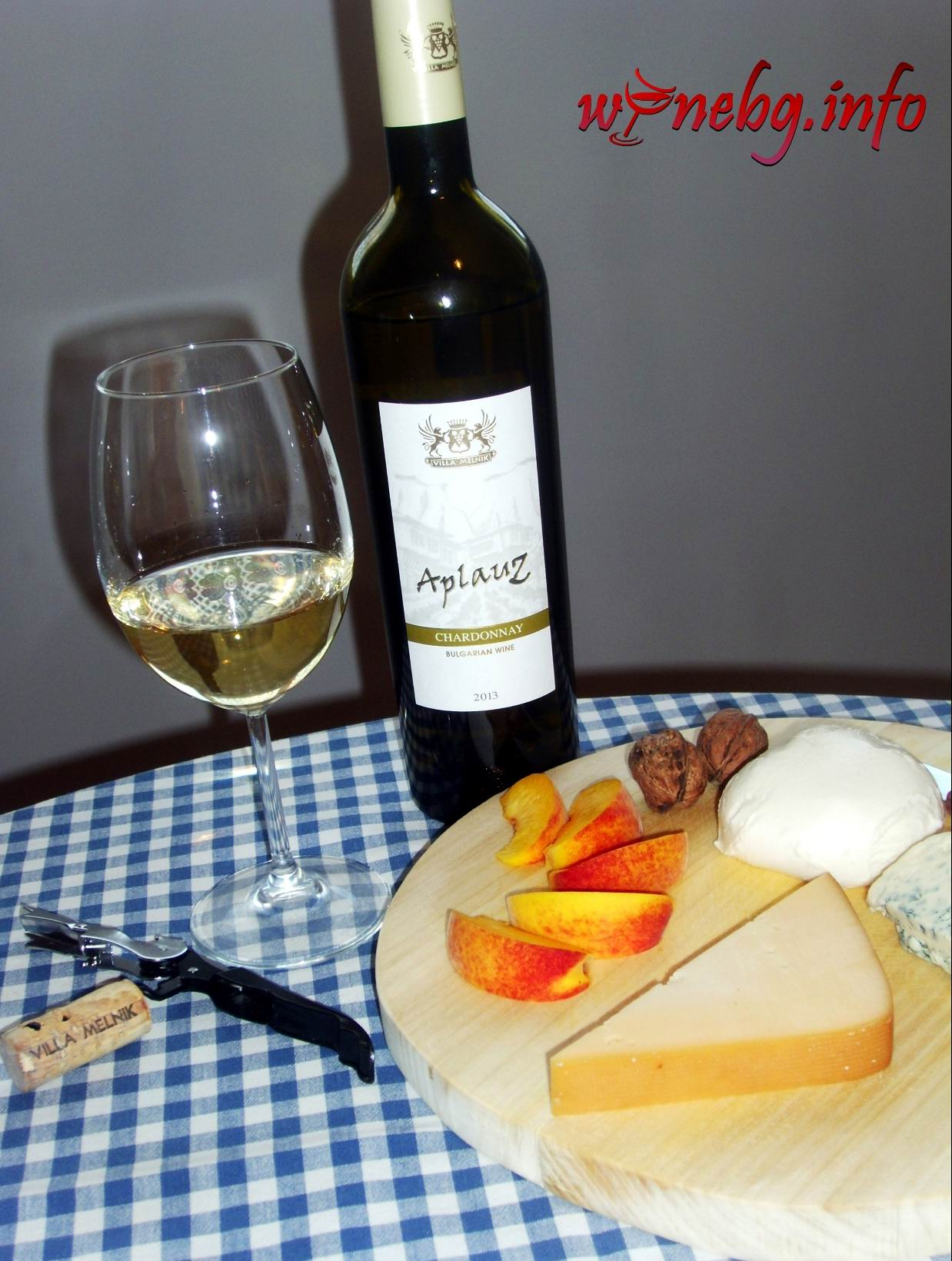 AplauZ Chardonnay 2013 – Villa Melnik