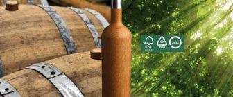 Дървена бутилка пресъздава отлежаването в барик