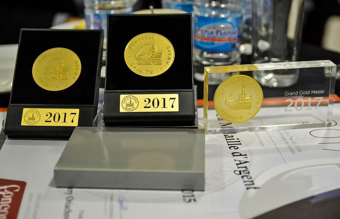 Наградиха победителите от два световни конкурса: Concours Mondial и Spirits Selection 2017
