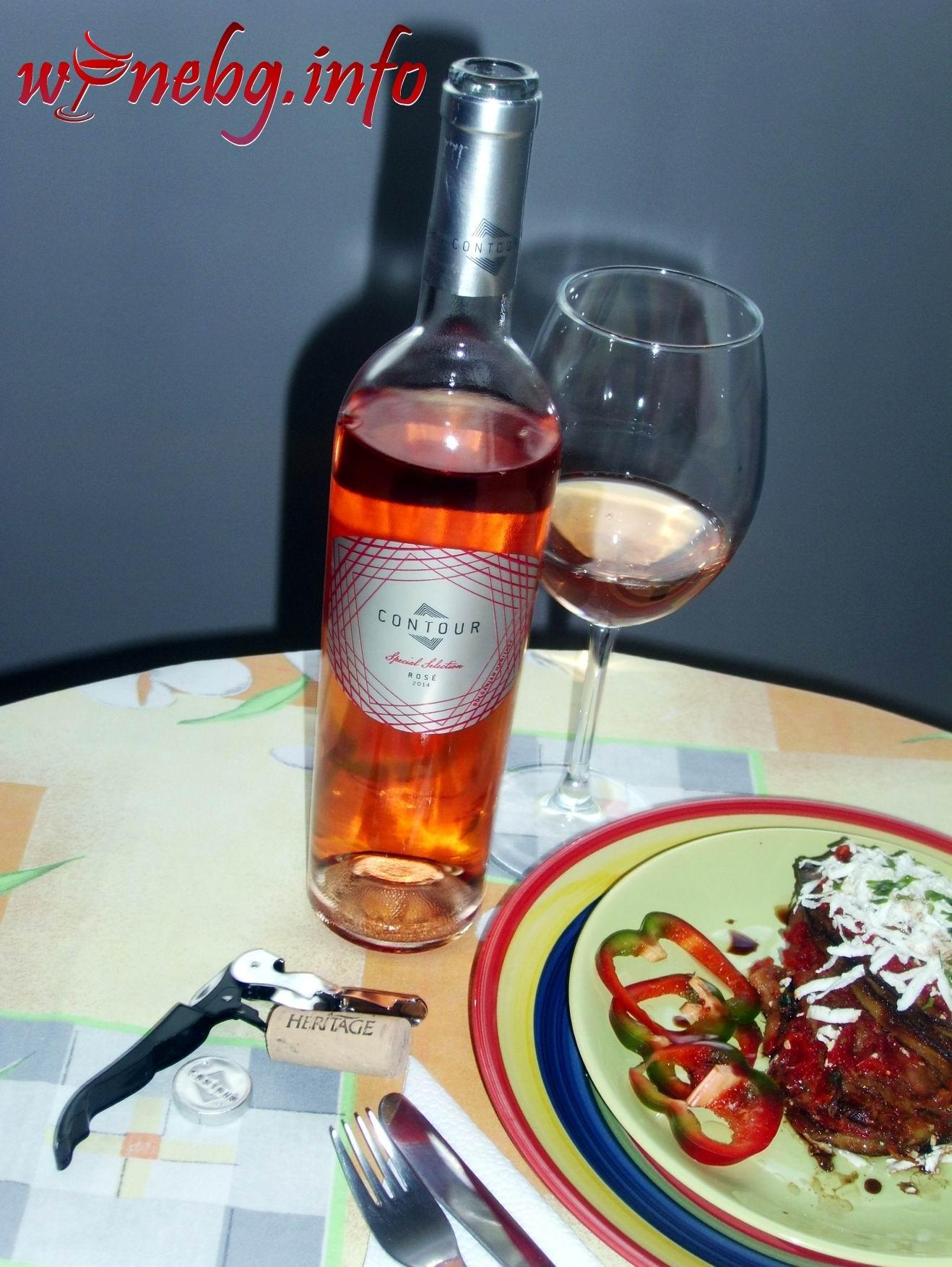 Contour Rose Cabеrnet Sauvignon & Pinot Noir 2014 – Изба Карабунар