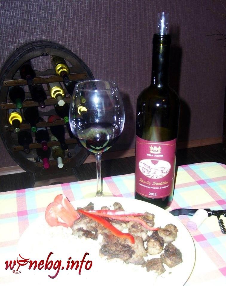 Villa Melnik – Family Tradition Cabernet & Merlot 2011