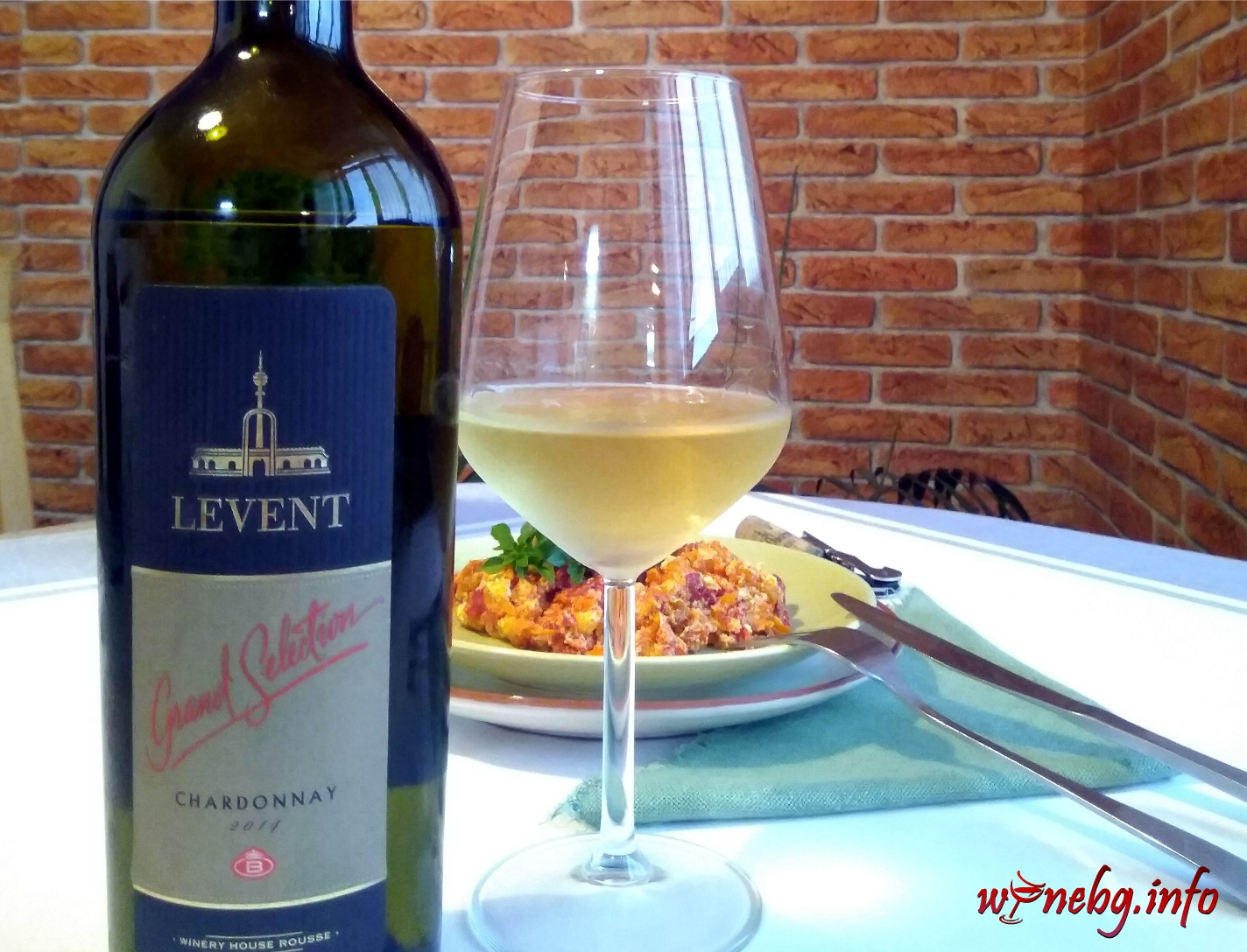 Leventa Chardonnay Grand Selection 2014 – Винарска къща Русе