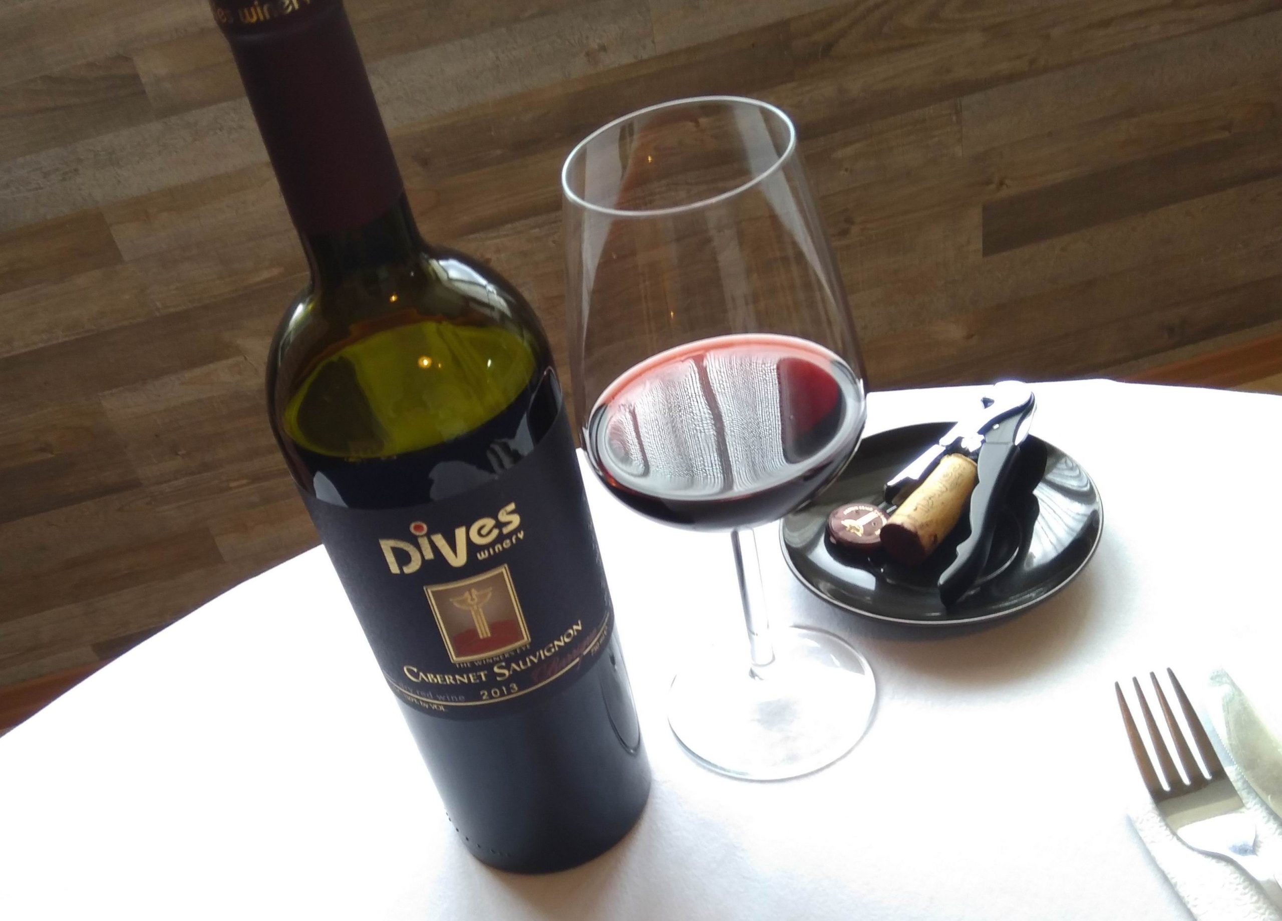Cabernet Sauvignon-Barrique 2013 – DiVes Winery