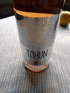 Tohun Rose 2017 - Tohun Winery label