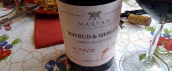 Mavrud § Merlot Barrel Fermented 2017 – Maryan Winery