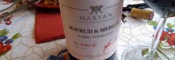 Mavrud § Merlot Barrel Fermented 2017 – Maryan Winery