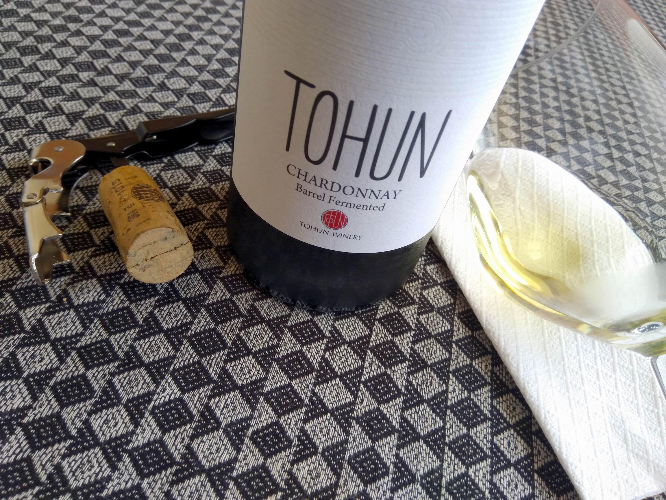 Tohun Chardonnay 2015 – Tohun Winery