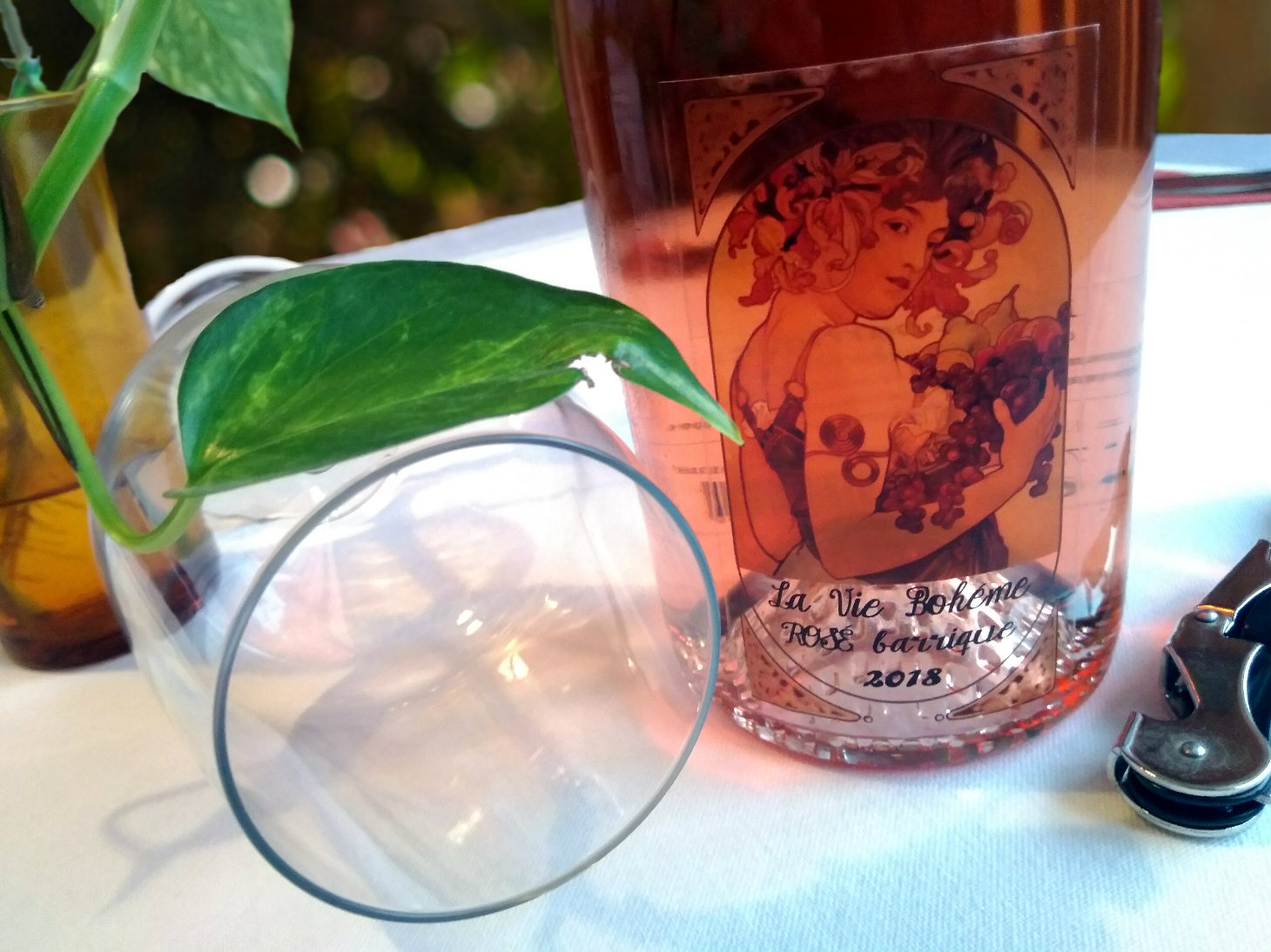 La vie Bohéme Rose Barrique 2018 -Dos Alamos Winery
