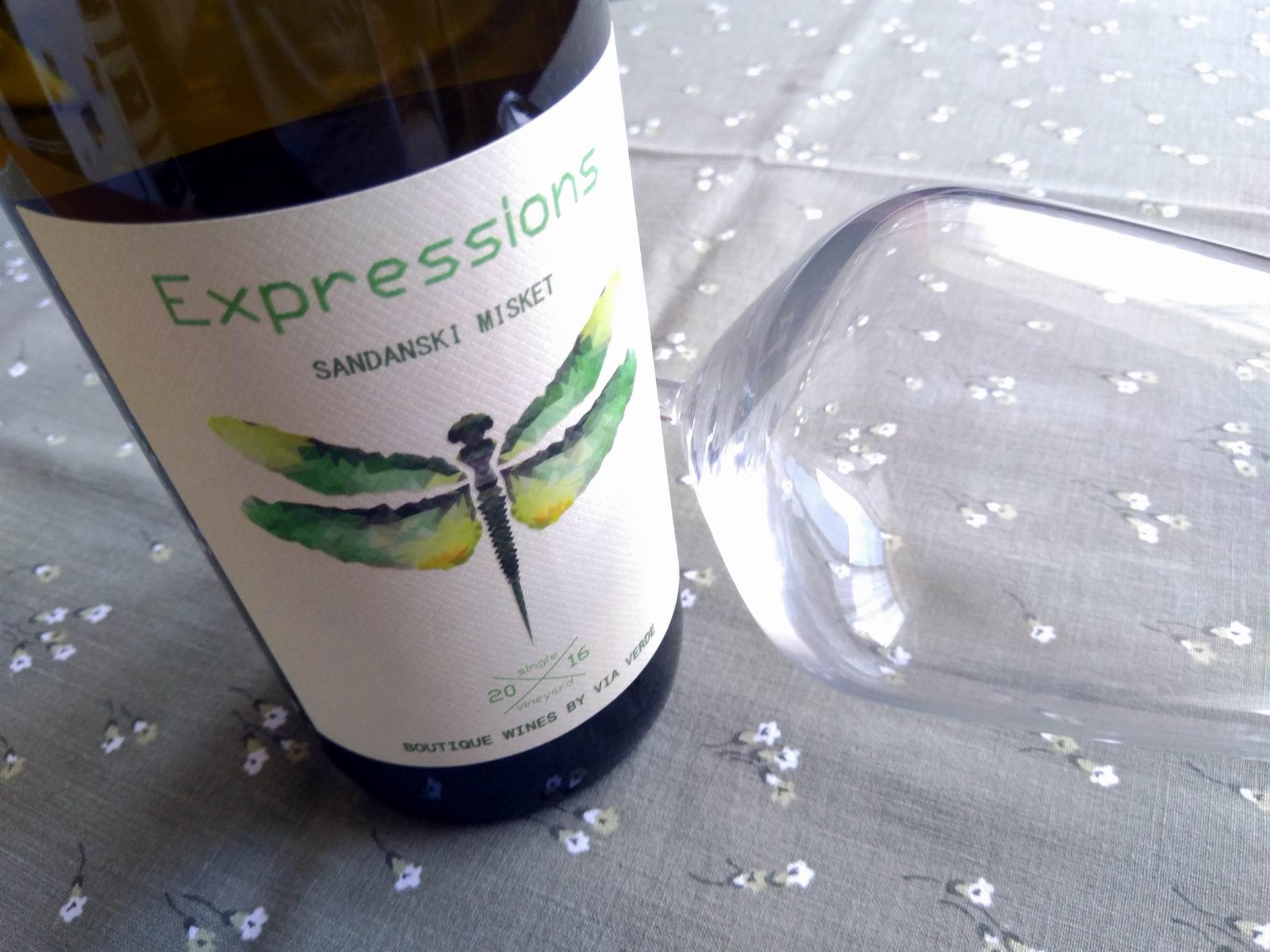 Expressions Sandanski Misket 2016 – Via Verde
