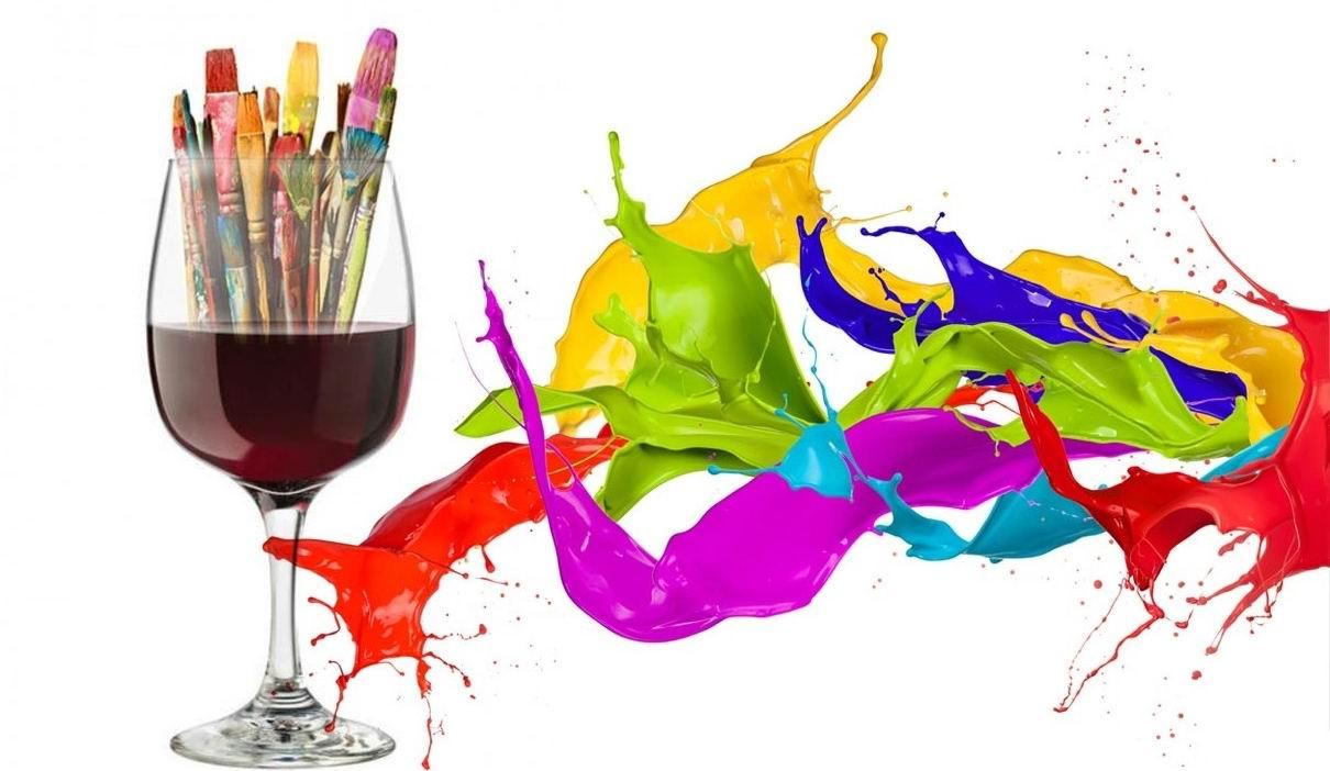 Освободете се от стреса с рисуване, вино и хубава музика