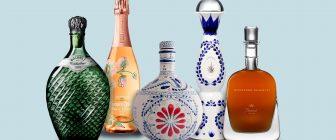Девет от най-красивите бутилки за вино и спиртни напитки в света