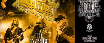 JUDAS PRIEST СА ПЪРВИЯТ ХЕДЛАЙНЕР НА MIDALIDARE ROCK IN THE WINE VALLEY