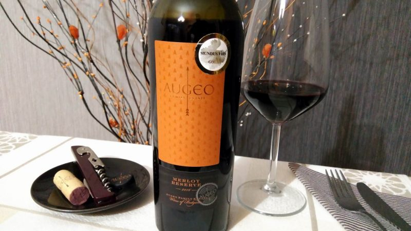 Merlot Reserve 2016 – Augeo Family Estate