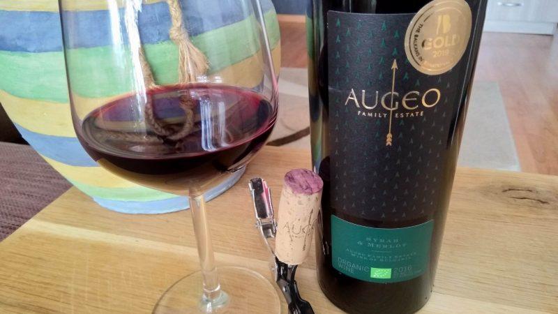 Syrah & Merlot – Organic Wine 2016 – Augeo Family Estate