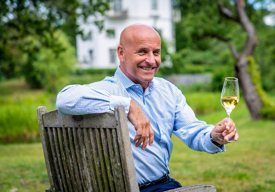 Richard Juhlin – за най-доброто шампанско в света.