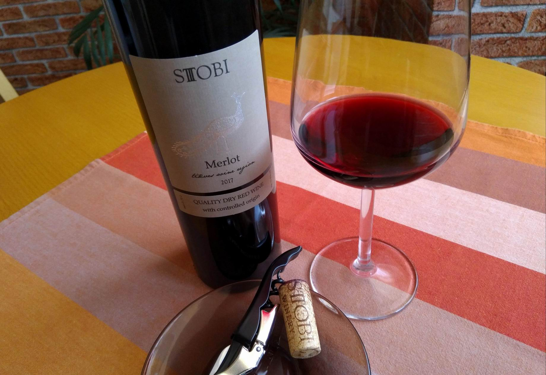 Merlot 2017 – Stobi Winery