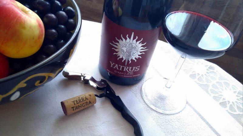 Yatrus Syrah 2015 – Terra Tangra