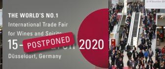 ProWein 2020 се отлага за следващата година – от 21 до 23 март 2021 г.