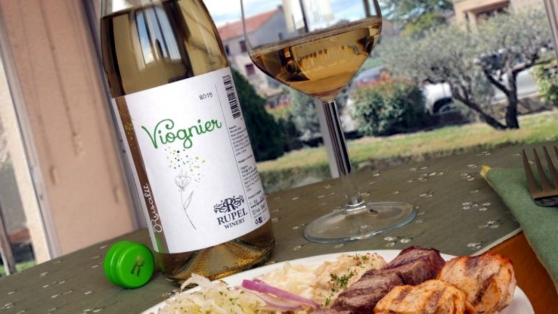 RUSALIi Viognier 2019 – Rupel Winery