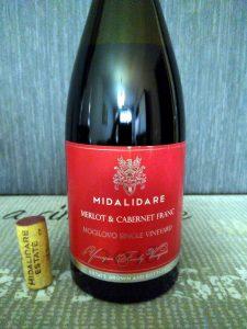 Midalidare Merlot & Cabernet Franc 2018