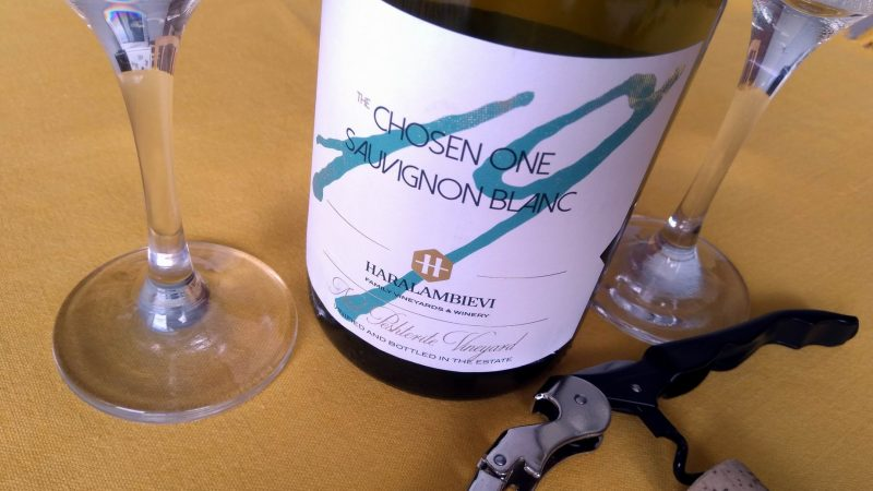 The Chosen One Sauvignon Blanc 2019 – Haralambievi