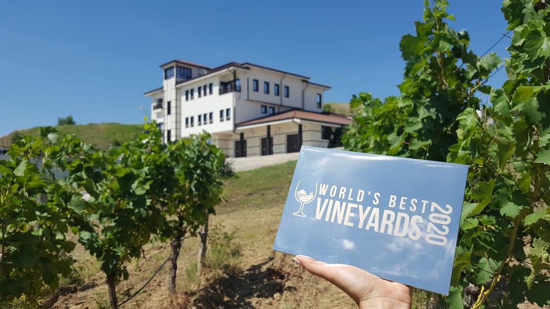 Вила Мелник е в Top 50 на World's Best Vineyards 2020