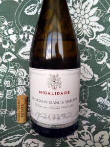 Midalidare Sauvignon Blanc & Semillon 2017 label
