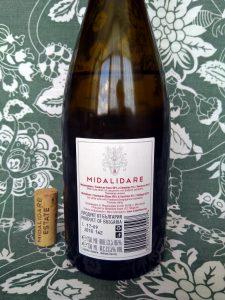 Midalidare Sauvignon Blanc & Semillon 2017 label back