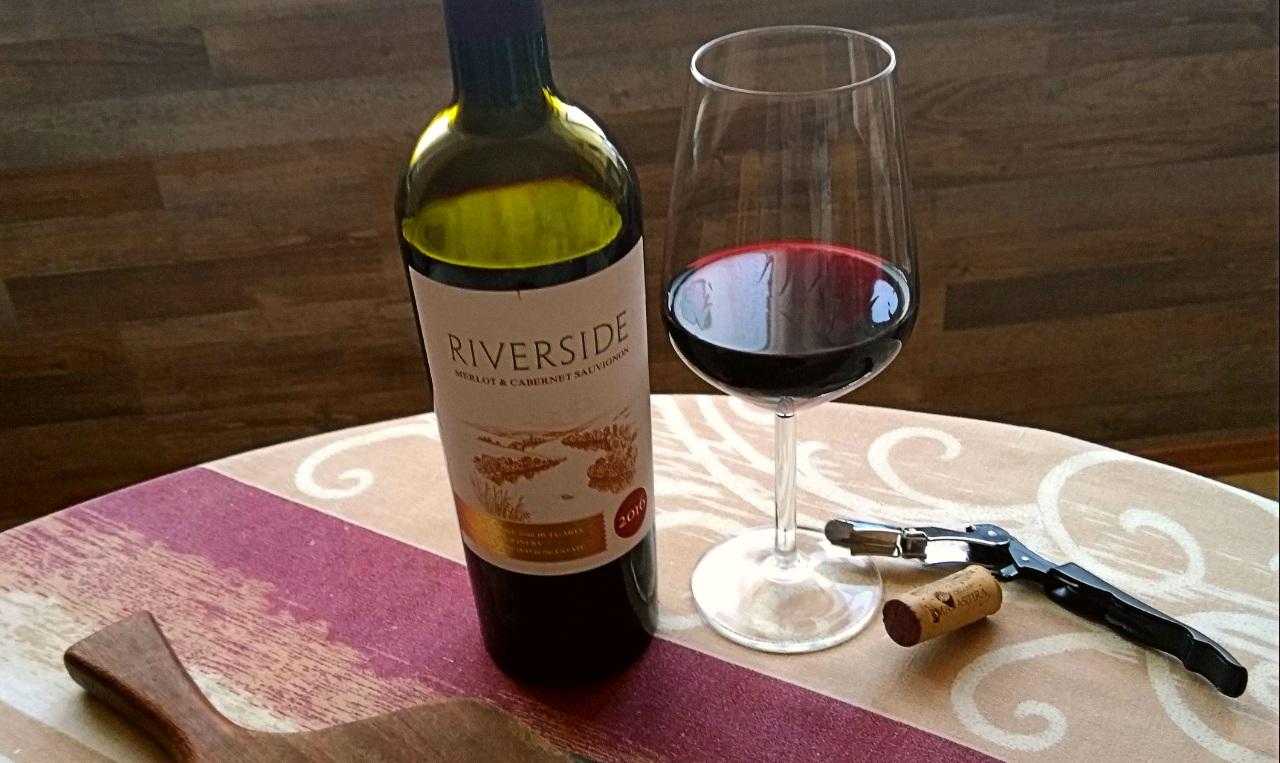 Riverside Merlot & Cabernet Sauvignon 2016 – Manastira Winery
