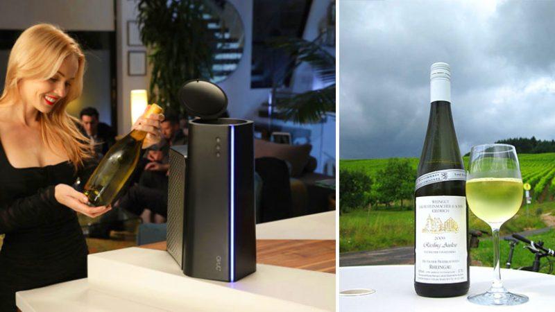 Микровълновата фурна JUNO може да охлади бутилка вино за три минути