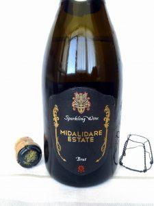 Midalidare Sparkling Brut 2014 - Midalidare Estate label