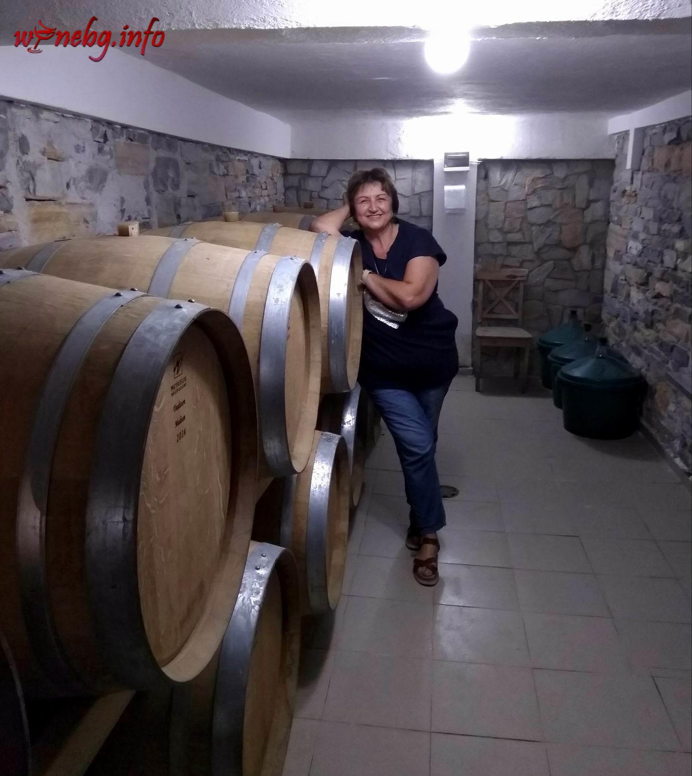 Snezhana Mutafchiyska - Roxs Winery - Winebg.info