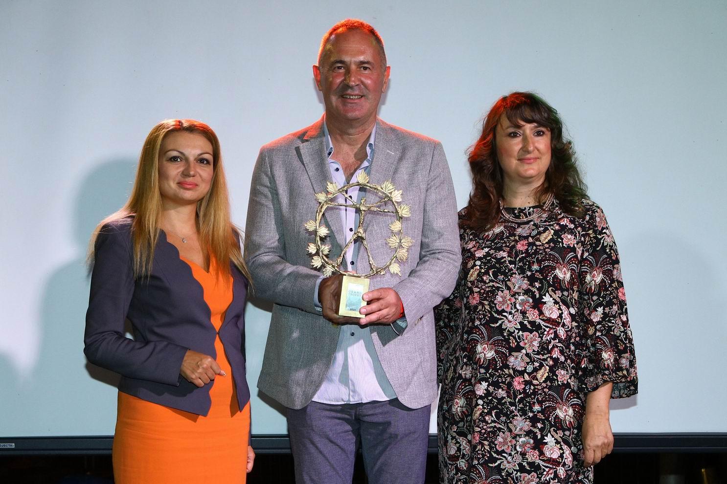 Сръбското Trijumf Selection спечели Гранд Трофея за най-добро вино на Балканите