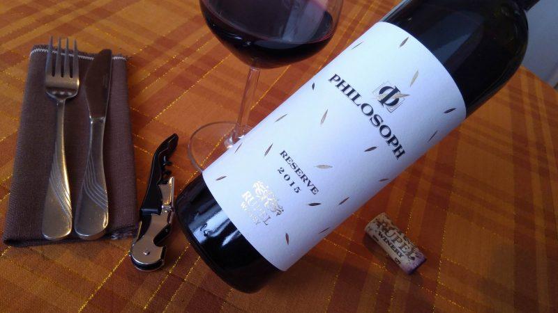 Philosoph Reserve 2015 – Rupel Winery