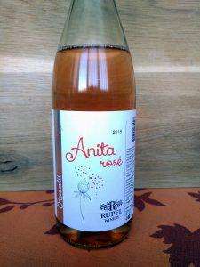 Rose Anita 2019 - Rupel Winery label
