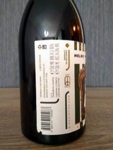 Spaceman Melnik 2018 - Wine Hippies label