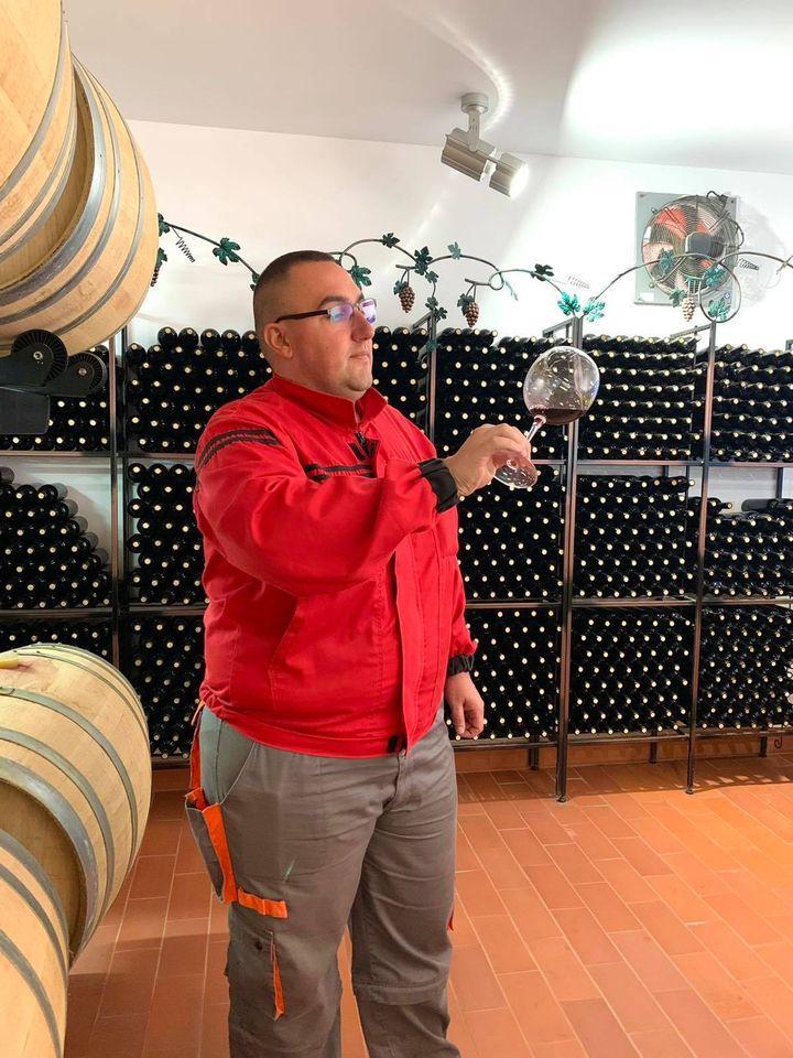 Андон Бърдаров - моето призвание е технолог на вино!