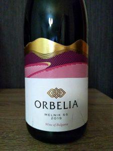 Melnik 55 2019 - Orbelia Winery label