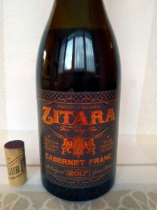 Zitara Cabernet Franc 2017 - Four Friends