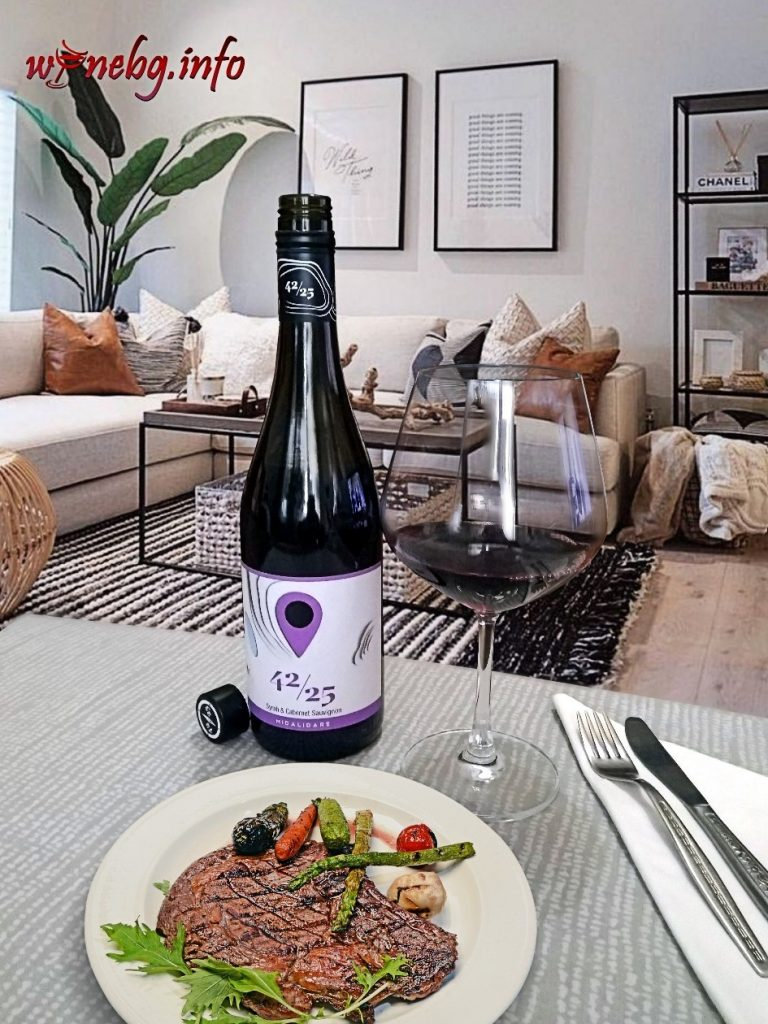 42/25 Syrah & Cabernet Sauvignon 2019 – Midalidare Estate