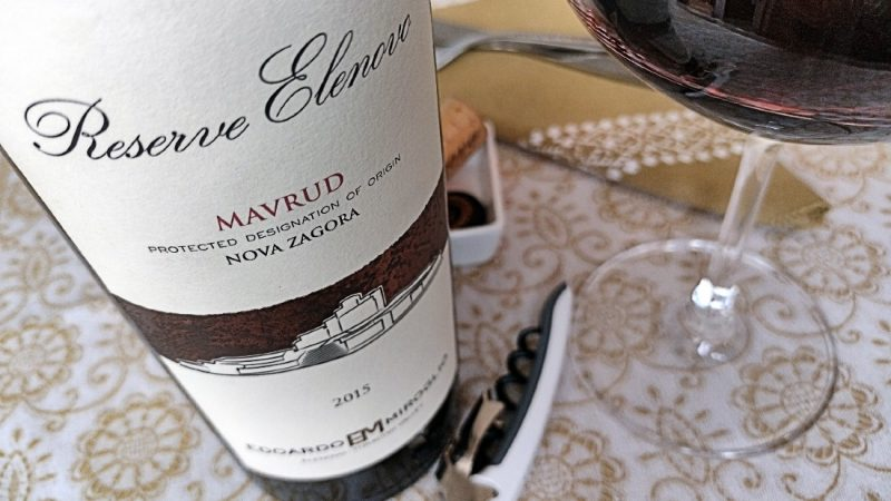 Mavrud Elenovo Reserve 2015 – Edoardo Miroglio